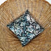 Coussin tissu vintage