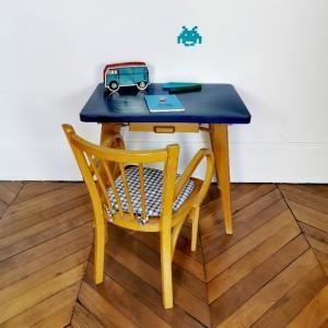 Petit ensemble bureau et fauteuil Baumann