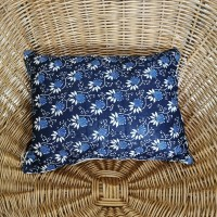 Coussin tissu bulgare vintage GM