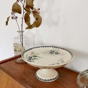 Serviteur ancien motif floral