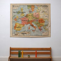 Carte scolaire Europe Armand Colin