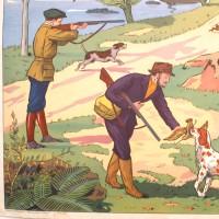 Affiche scolaire La Foire - La Chasse