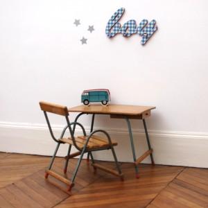 Mini bureau et sa chaise