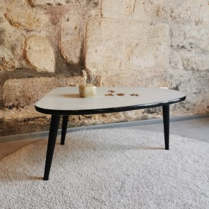 Table basse métal et formica