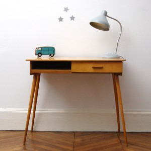 Modernist writing desk