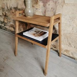 Table d'appoint ancienne en bois