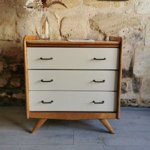 Commode coiffeuse années 60