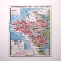 Carte scolaire Bretagne et Vendée