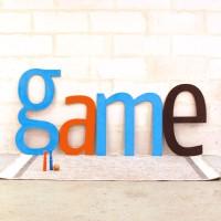 Lettres d'enseigne G.A.M.E.