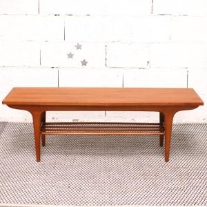 Grande table basse années 50