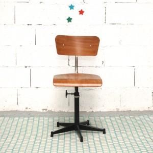 Chaise d'atelier vintage