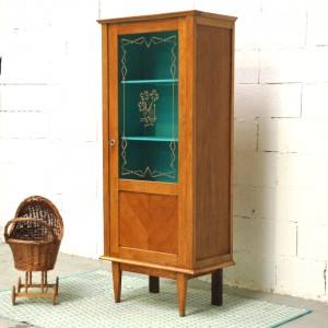 Armoire vitrée Turquoise