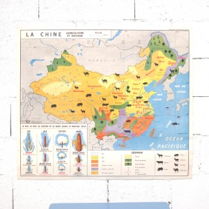 Carte scolaire Chine URSS