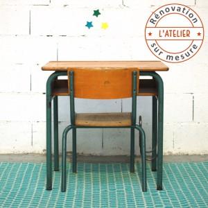 Bureau et chaise à personnaliser
