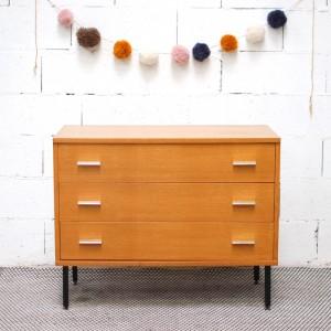 Commode moderniste 3 tiroirs