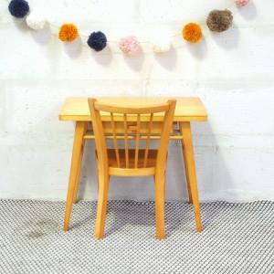 Ensemble bureau et chaise Baumann