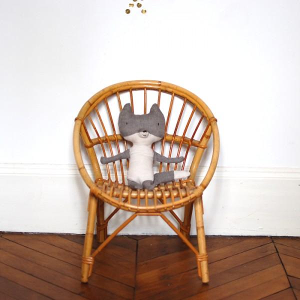 chaise en rotin enfant. Black Bedroom Furniture Sets. Home Design Ideas