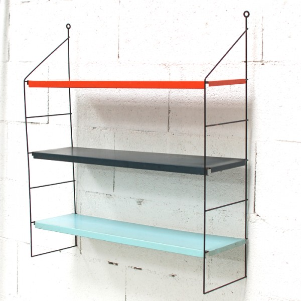 etagere metallique couleur