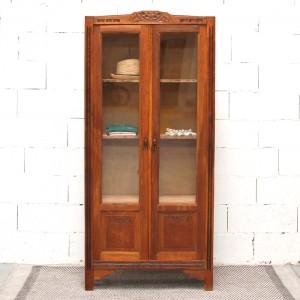 Armoire ancienne vitrée 1