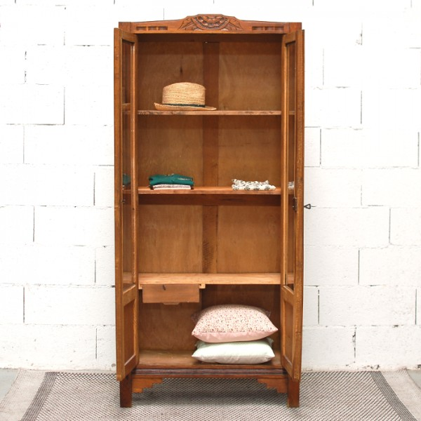 Armoire ancienne vitr e for Acheter un congelateur armoire