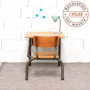 Bureau et chaise d'écolier à personnaliser