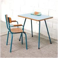 Ensemble bureau et fauteuil Marine Blue