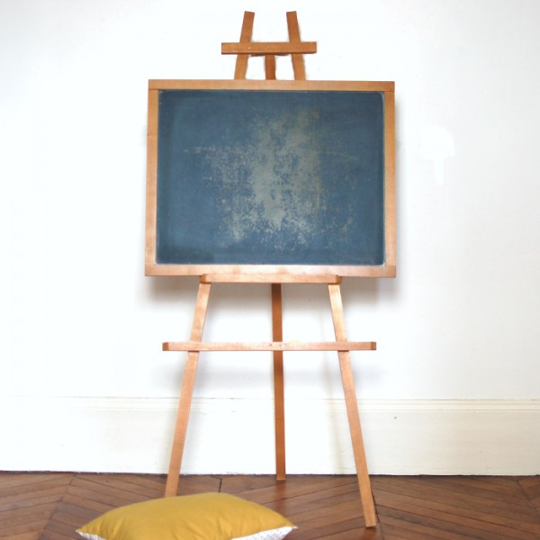 tableau noir ancien d 39 colier. Black Bedroom Furniture Sets. Home Design Ideas