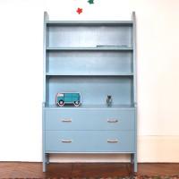 Bibliothèque années 50 Oval room blue