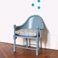 Fauteuil ancien Oval Room Blue