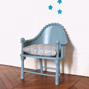 Fauteuil ancien Oval Room Blue 1