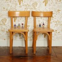 Petites chaises de bureau Baumann