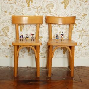 Petites chaises de bureau Baumann 1