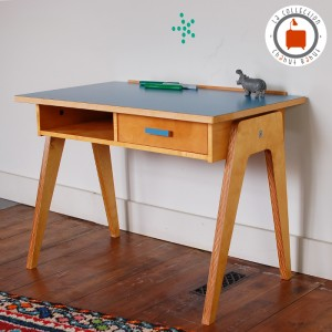 Bureau Gaston Medium bleu 1