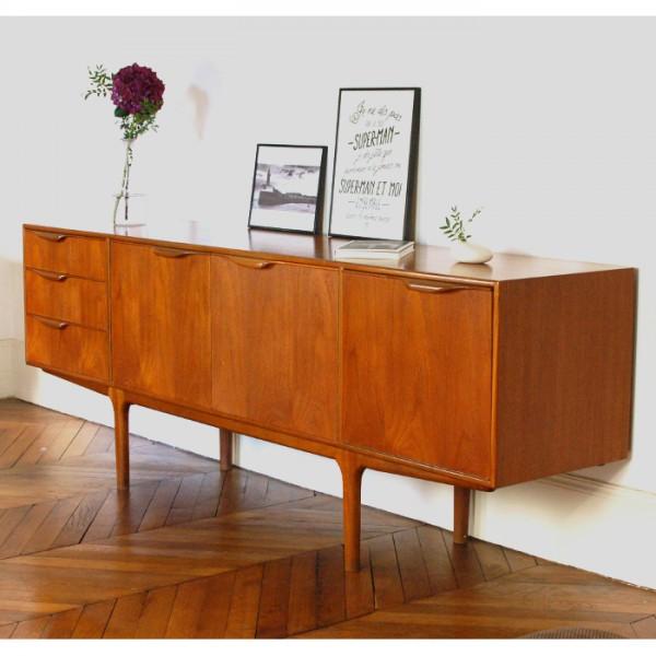 enfilade vintage de tom robertson pour mcintosh 1960s. Black Bedroom Furniture Sets. Home Design Ideas