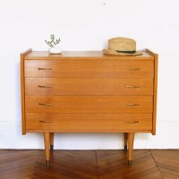 Commode années 50 4 tiroirs