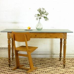 Table ancienne en bois 1