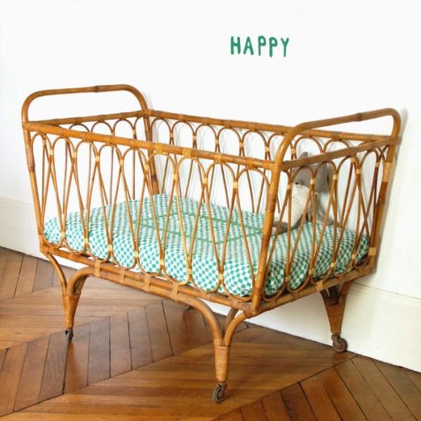 lit b b vintage. Black Bedroom Furniture Sets. Home Design Ideas