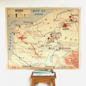 Affiche murale Nord et Est 1