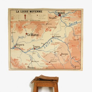 Affiche scolaire La Seine et ses affluents