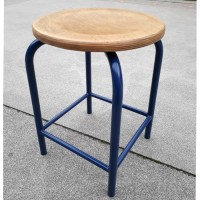 Tabouret ancien Dark Blue