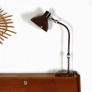 Lampe de bureau Jumo marron 1