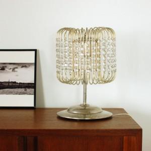 Lampe à pampilles années 50 1