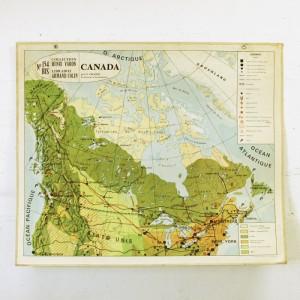 Carte scolaire Canada 1