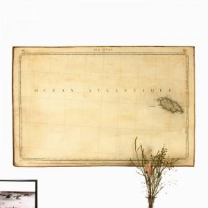 Carte Dépôt de la guerre l'Ile d'Yeu 1