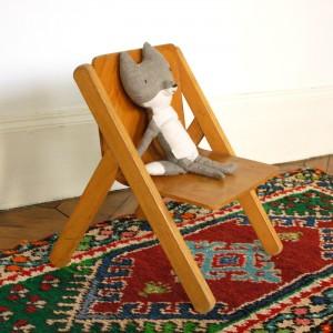 Petit fauteuil années 50 1