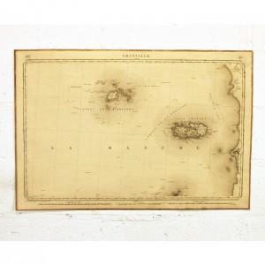 Carte Dépôt de la guerre Granville 1