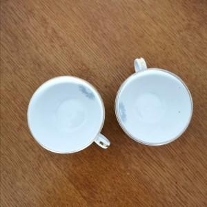 Duo de petites tasses anciennes 1