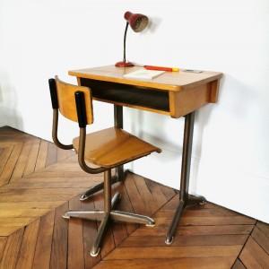 Ensemble bureau et chaise enfant