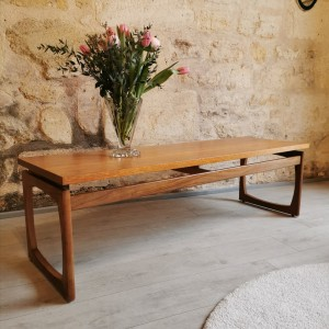 Table basse en teck G-Plan