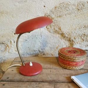 Lampe champignon rouge